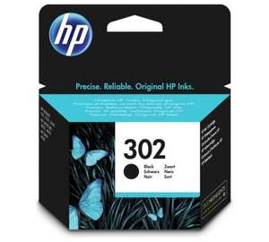 HP 302 Black Original Ink Cartridge was £15.99 now £6.13 @ Amazon (Prime Exclusive) **Cheapest**