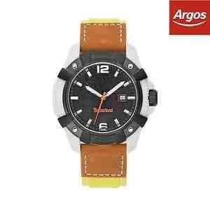 Timberland Men's Chocorua Black Dial Leather Strap Watch -From Argos on ebay - £26.59
