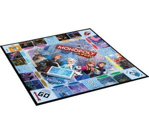 Disney Frozen Junior Monopoly Game less than half price from Argos £7.99 (plus 10% Quidco on Fast Track and Home Delivery)
