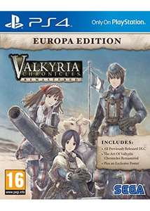 Valkyria Chronicles Remastered Europa Edition (PS4) @ Base for £14.99
