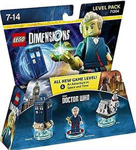lego dimensions, Dr Who Level Pack at Amazon for £16.99 (Prime or add £3.75)
