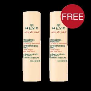 Free delivery on all orders, BOGOF on selected products, plus 1 Free mini + 3 samples @ Nuxe £5.50