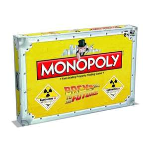 Back to the Future Monopoly  £15 @ Amazon ( Sold by Winning Moves )
