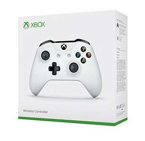 Xbox One White Wireless Controller at Amazon for £34.99 (prime member exclusive)