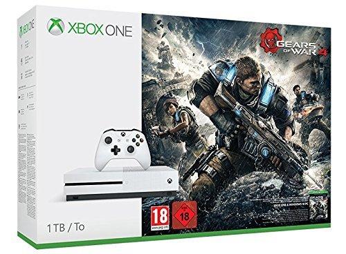 Xbox One S Gears of War 4 Bundle (1TB) £244.99 @ Amazon