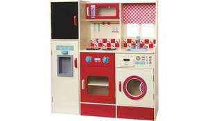 Asda wooden toy kitchen instore for £32.50