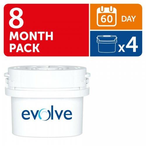 Aqua Optima Evolve 60-Day Cartridges 4 Pack (8 Months) £8.99 @ Robert Dyas - Free c&c