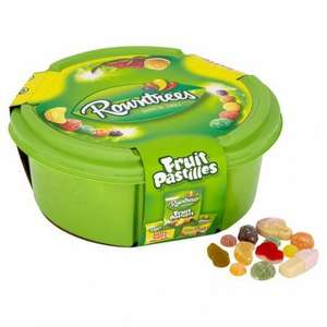 Rowntrees Sweet Tubs 750g now £2 Tesco