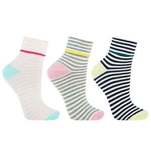 John Lewis Women's Multipack Socks £3.25 - £3.50 Instore and Online