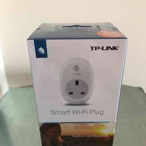 TP-Link Smart Wi-Fi Plug (works with Alexa) £20 instore @ Sainsbury's