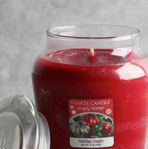 Holiday Magic Large Yankee Candle £4 Wilko