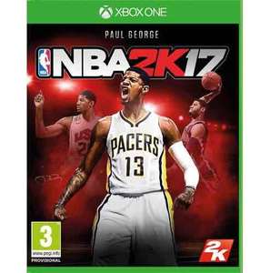 NBA 2K17 Xbox One / PS4 - £24 @ Tesco Direct