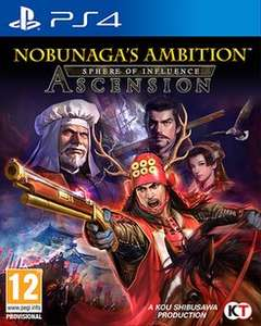 Nobunaga's Ambition Sphere of Influence - Ascension PS4 (Game) £19.99