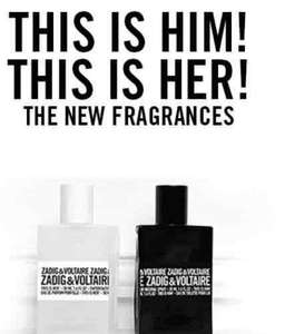 Zadig & Voltaire 50ml Gift Sets at Boots - This is Him! £21 & This is Her! £26