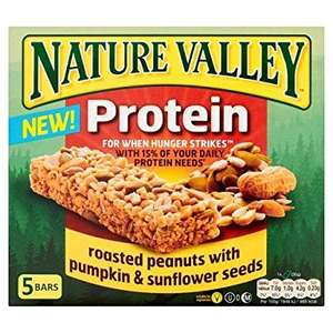 Strood poundland - nakd 4 pack mix and nature valley 5 pack peanut and chocolate protein bars