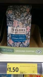 Taylors limited edition William Morris coffee £1.50 @ Morrisons