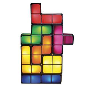 Tetris lamp (pieces are individually stackable!) £16.99 Prime / £21.74 Non Prime @ Amazon