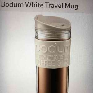 bodum travel mug (tea or coffee 0.35L 4 colours) only £6 @ Tesco (c&c store or +£3pp)
