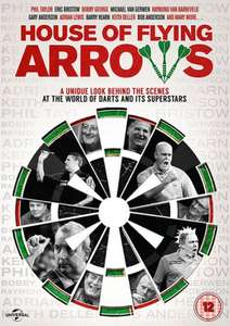 House of the Flying Arrows - PDC Darts DVD - £4.99 @ HMV or Amazon