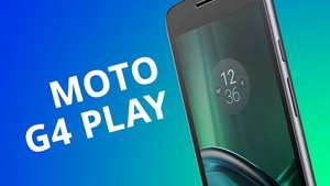 """Moto G4 Play 5"""" HD, Android 6.0.1, Black - was £129.99 now £79.01 delivered with codes stack @ Motorola"""
