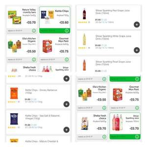 kettle chips £1 ( 40p after cashback ) Shloer £1.25 ( 55p after cashback) from Sainsburys and Green jinn shopping app
