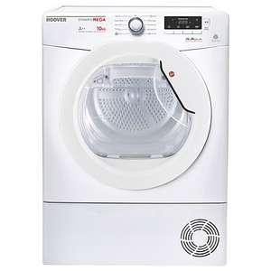 TUMBLE DRYER HEAT PUMP Hoover Dynamic Next Mega DMHD1013A2 £321 with code @ AO.com (poss £27.50 casback at TCB)