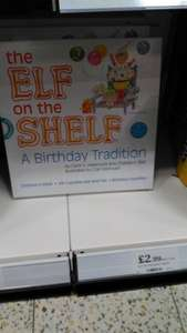 Elf on the Shelf Birthday Tradition - Home Bargains instore for £2.99
