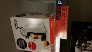 Nescafe Dolce Gusto coffee maker by DeLonghi £24.99 instore B&M