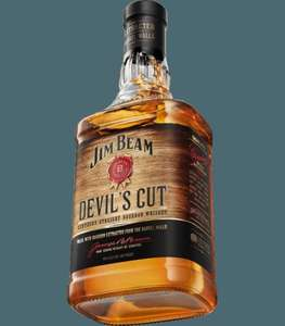 Jim Beam Devils Cut 70Cl £15.00 reduced from £25.00 @ Tesco Groceries