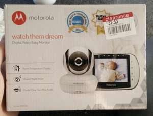 Motorola MBP36S Baby video monitor instore at Boots for £32.50