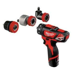 Milwaukee M12 drill driver kit 4 in 1 - Plumbcentre for £119.99