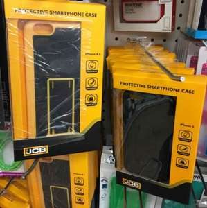 JCB iPhone 6 & 6+ Cover for a single £1 in Poundland