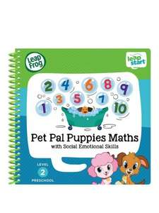 Leapfrog Leapstart Pet Pal Puppies Maths £6.99 @ Very - Free c&c