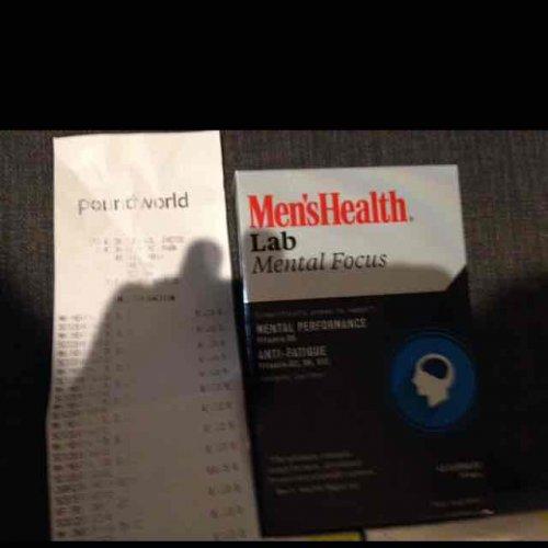 men's health supplements £1 @ Poundworld