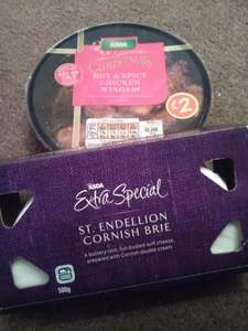 Asda Extra Special Brie 10p and other party food 10p best before dates 3/5th January @ Asda - Sheldon branch