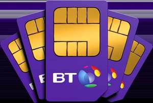 BT Mobile 15GB Plan Unlimited Mins, Unlimited Texts, Unlimited BT Wifi Hot Spots 12 Months Contract  £252.  £90 Amazon Voucher and & £60 Cashback.