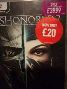 Dishonoured 2 - £20, CIV 6 - £35 [PC DVD] @ GAME