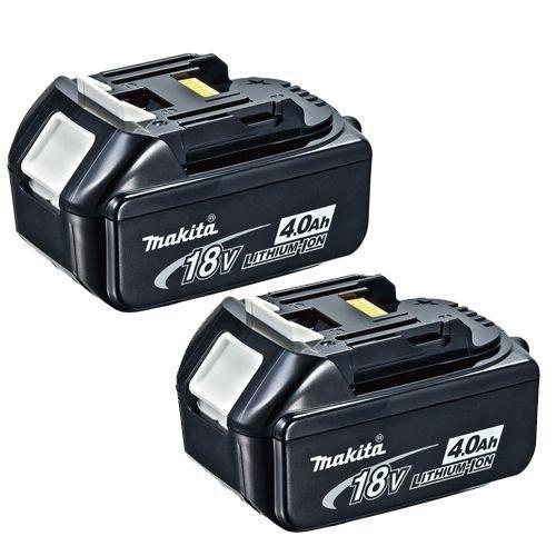 2 x Makita 18v 4 Ah Batteries - £76.90 @ Amazon (Prime Exclusive)