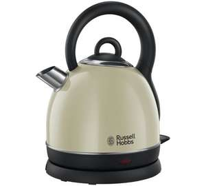 Russell Hobbs 19193 Westminster Dome Kettle - Cream down from £49.99 to £22.99 @ Argos