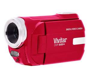 VIVITAR DVR908MFD Traditional Camcorder £9.97 @ Currys