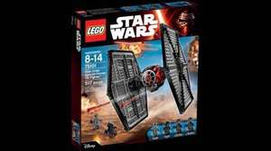 Lego Star Wars First Order Tie Fighter at Amazon for £39.99