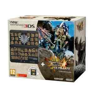 new 3ds xl with monster hunter from Nintendo store for £149.99