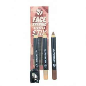W7 Cosmetics Face Shaping Contour Stix MakeUp - £1.79 delivered with code from justmylook.co.uk