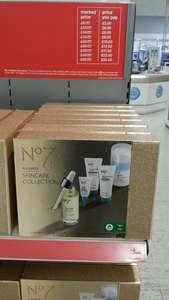Boots no7 skincare collection instore for £10