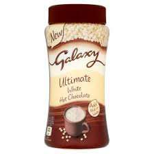 Galaxy ultimate white hot chocolate 300g 99p instore at Tesco