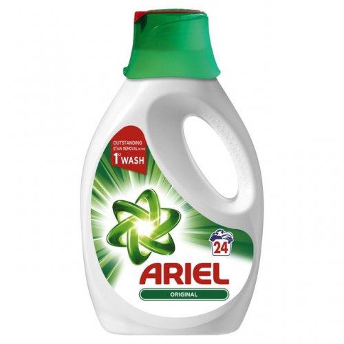 Ariel Washing Liquid 24 washes 1.2L £3.50 @ Morrisons
