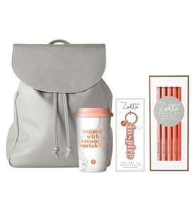 Zoella backpack gift half price at Boots for £25
