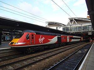 Christmas colouring book @ virgineastcoast trains