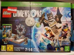 Lego Dimensions Starter Pack Xbox One / Xbox 360 £20 Instore @ Asda