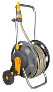 Hozelock 60m Hose Cart with 50m Hose Reel and Connectors £43.55 @ Amazon